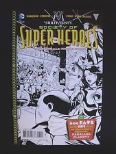 The Multiversity - Society of Super-Heroes #1 B&W Variant Cover - Vf+/Nm