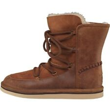 NEW UGG Australia Womens Lodge Snow Boots Chestnut 3.5 UK / 36 EU