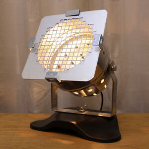 Retro Chic classic polished theatre/stage light - Bedroom Kitchen Table lamp