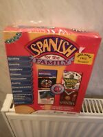 Spanish for the familu Extensive Language Training Course on PC CD-ROM win95 New
