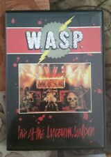 W.a.s.p   Live at the liceum dvd + first blood last vision,videos in the raw...