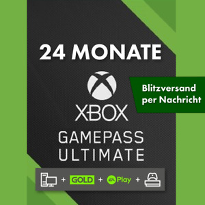 XBOX GAME PASS ULTIMATE ✅ 24 MONATE ✅ 1 Code 🟡+ LIVE GOLD ✅ + EA PLAY  ⚡INSTANT