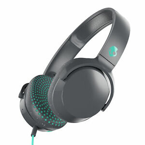 Skullcandy Riff On-Ear Durable Headphone - Grey/Miami