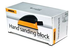 Handschleifblock con Aspiración 70 X 125mm Klett 13-Loch para Bandas Abrasivas