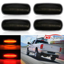 LED Smoked Dually Bed Side Fender Marker Light For 2003-2009 DODGE RAM 2500 3500