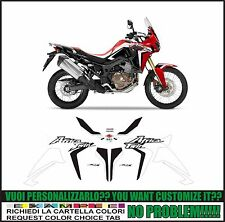 kit adesivi stickers compatibili africa twin crf 1000 L 2016 red white black