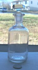 Victorian Lady'S Perfume With Working Stopper Embossed, French'S
