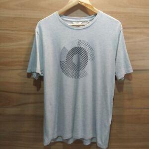 BEN SHERMAN Tee / Mens MEDIUM M / Grey T Shirt / logo print / Mod UK British