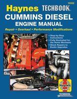 Dodge Cummins Diesel Engine shop repair service manual Haynes Chilton book