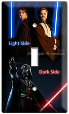 STAR WARS ANAKIN SKYWALKER LORD DARTH VADER SINGLE LIGHT SWITCH WALL PLATE COVER