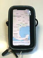 """Bike/Motorcycle Handlebar Mount & Dust/Water Resistant Smartphone / 5""""GPS Holder"""