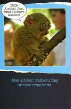 Funny Wishes Come True Happy Father's Day Card Humour Greeting Cards