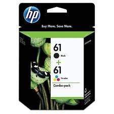 HP 61XL Combo Black/Tricolour Ink Catridge