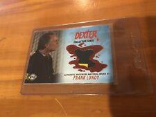 Dexter Season 1 & 2 Frank Lundy Wardrobe Card Variation Rare DC11 2 Color