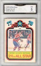 1978-79 O-Pee-Chee #335 Serge Savard AS  | Graded EX | Montreal Canadiens