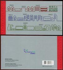 Hongkong 2013 Busse Buses Omnibusse Booklet Markenheft ** MNH