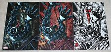 VENOM 150 MIKE PERKINS ULTIMATE 1 DF HOMAGE VARIANT VIRGIN B&W BUNDLE 3-PACK NM!