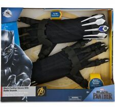 Disney Black Panther Electronic Gloves w Battle Sounds New Child Avenger Marvel