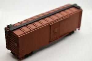 HO Scale Custom Painted Weathered Train Livestock Car