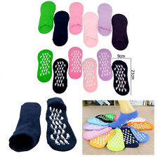 6x Pairs Women Ladies Girls Soft Warm Thermal Gripper Slipper Socks Bed Sock