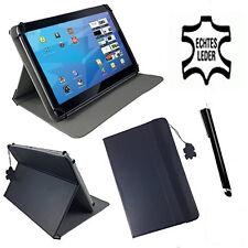 Leder Tablet Schutzhülle für Chuwi HI10 Pro 2in1 Etui 10.1 Zoll Schwarz