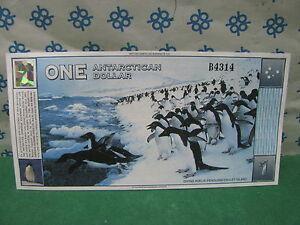 Rarissimo  1 Dollaro Antartico - ONE ANTARTICAN DOLLAR  - 1* Marzo 1996