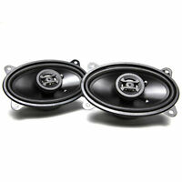 "Hifonics ZS46CX 400W 4"" x 6"" Zeus Series 2-Way Coaxial Car Stereo Speakers"
