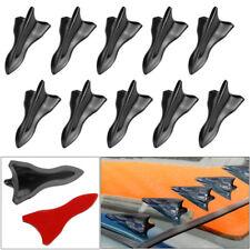 Shark Fin Diffuser Vortex Generator For Mazda Subaru Roof Spoiler Bumper Black