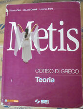 METIS. CORSO DI GRECO - TEORIA - V.CITTI C.CASALI L.FORT - SEI