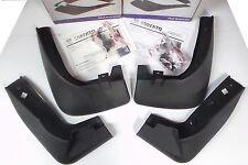 Genuine Kia Sorento EX Splash Guards Mud Flaps OEM New Complete Set Front Rear