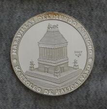 1997 10 PESOS argento Proof Coin, meraviglie del mondo antico-MAUSOLEO DI HAL