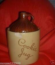 Vintage Art Pottery Cookie Jar or Cookies Jug USA Crock