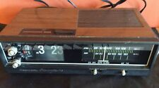Realistic Chronomatic 116 Clock Radio Flip AM FM Works Radio Shack Electric