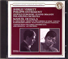 STOKOWSKI: FALLA El amor brujo SHIRLEY VERRETT Nights in the Gardens ORMANDY CD