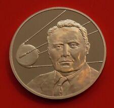 Bronze Medal Medallion RAF Museum First Satellite In Space Sputnik 1 1957