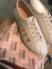 """Gucci Women's """"GUCCY"""" Falacer Sneakers 519718 0G270 9068 SZ 40 US 10"""