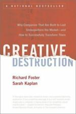 Creative Destruction: Why Companies That Are Built to Last Underperfor-ExLibrary