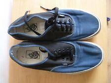 Vans Homme Chaussures Taille UK 9 US 10 Used Bleu/Noir à Lacets Chaussures