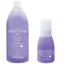 Zoya Polish Remove 3 in 1 Big Flipper 8 Oz & 32 Oz