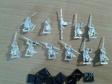 Warhammer FANTASY Elves WOOD ELF ETERNAL GUARD WITH COMMAND GROUP metal OOP