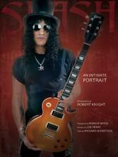 SLASH: An Intimate Portrait Book - Guns N Roses Hair Metal Rock LA 80s Guitarist