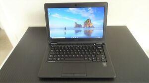 Dell Latitude E7250 laptop, Intel core i5 CPU, 8GB RAM, 256GB SSD, Windows 10