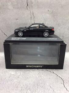 Minichamps 1/43 2008 BMW M3 Coupe E92 - Black - MIB