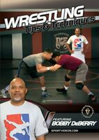 Wrestling Tips and Techniques DVD featuring Coach Bobby Deberry