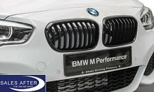 Original BMW M PERFORMANCE Ziergitter Nieren F20 F21 LCI FACELIFT schwarz black
