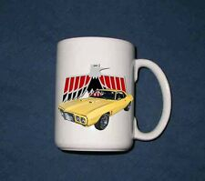 New 15 Oz. 1969 Pontiac Firebird mug