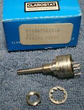 New Listingclarostat Rv6naysd251a Potentiometer 250 Single Turn 18 Shaft New In Box