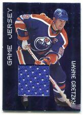 1999-00 BAP Millennium Jerseys 9 Wayne Gretzky Jersey /100