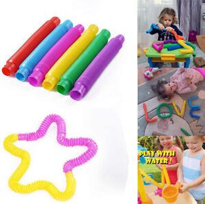 Pop Tube Sensory Fidget Toys Kids Adults Stress Relief & Anti Anxiety Toy 1 PC