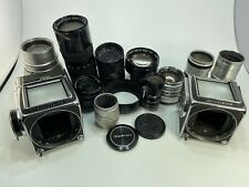 Camera Lot For Parts - Various Lenses, Hasselblad, Canon, C-Mount, Carl Zeiss